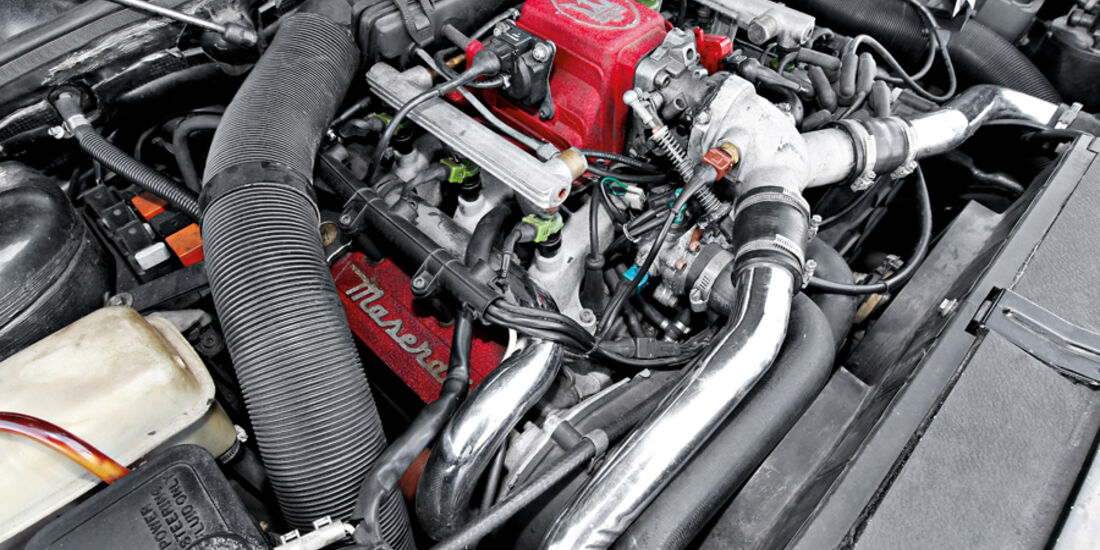Maserati Biturbo 228, Motor