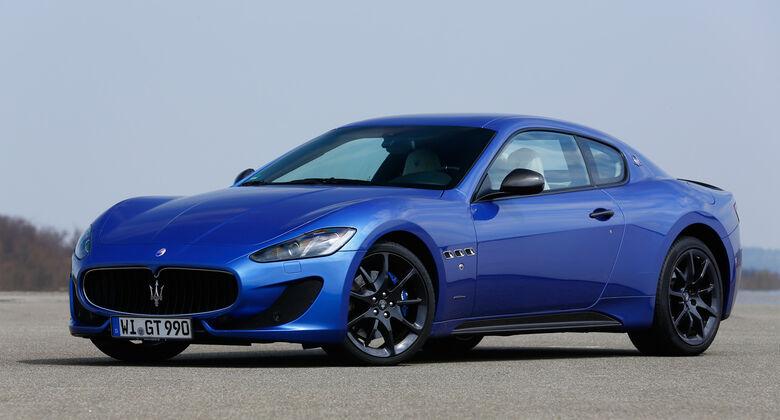 Maserati Gran Turismo Sport, Frontansicht