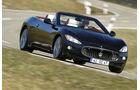 Maserati GranCabrio, Frontansicht, Fahrt