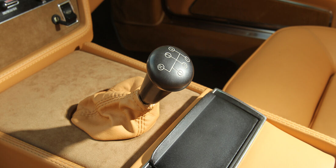 Maserati Khamsin, Schaltknauf, Gangschalter