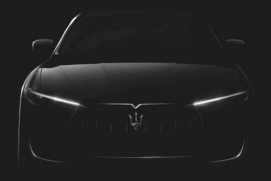 Maserati Levante Teaser Genf 2016