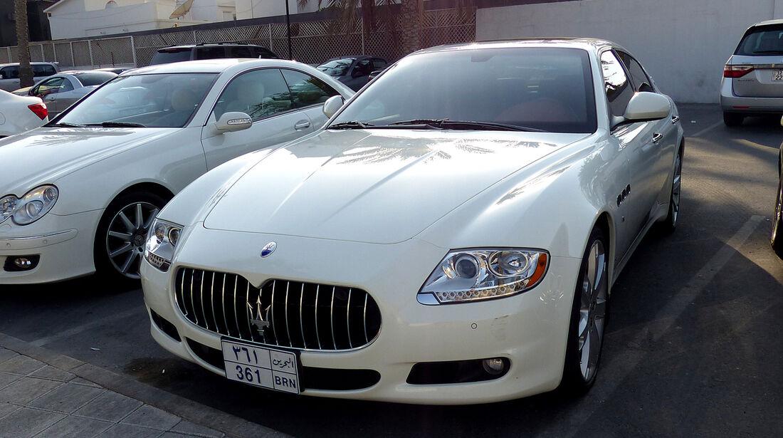 Maserati Quattroporte - Carspotting Bahrain 2014