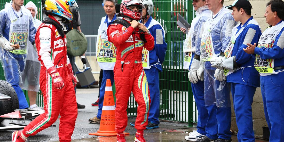 Massa & Alonso - Ferrari - GP Brasilien - 23. November 2013