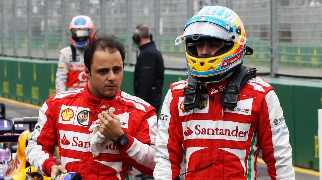 Massa & Alonso - GP Australien 2013