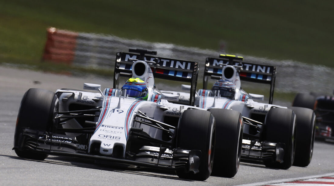 Massa & Bottas - Williams - GP Malaysia 2015