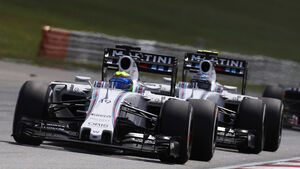 Massa & Bottas - Williams - GP Malaysia 2015