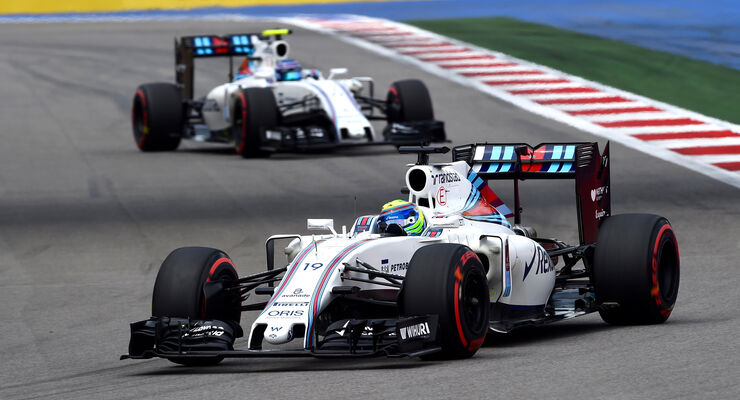 Massa & Bottas - Williams - GP Russland 2016