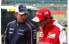 Massa & Maldonado - Formel 1 - 2013