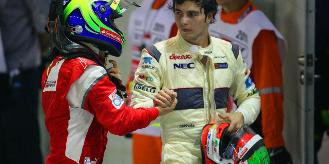 Massa & Perez GP Singapur 2011