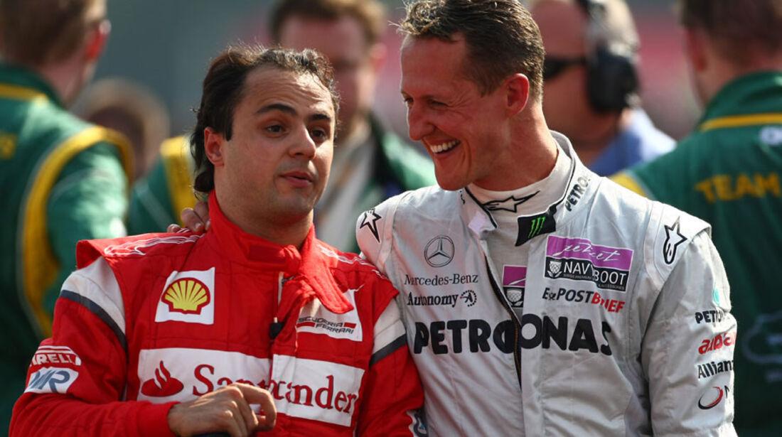 Massa & Schumacher GP Italien Monza 2011