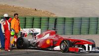 Massa Test 2011