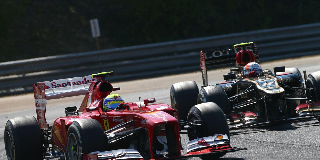 Massa vs. Grosjean - Formel 1 - GP Ungarn 2013