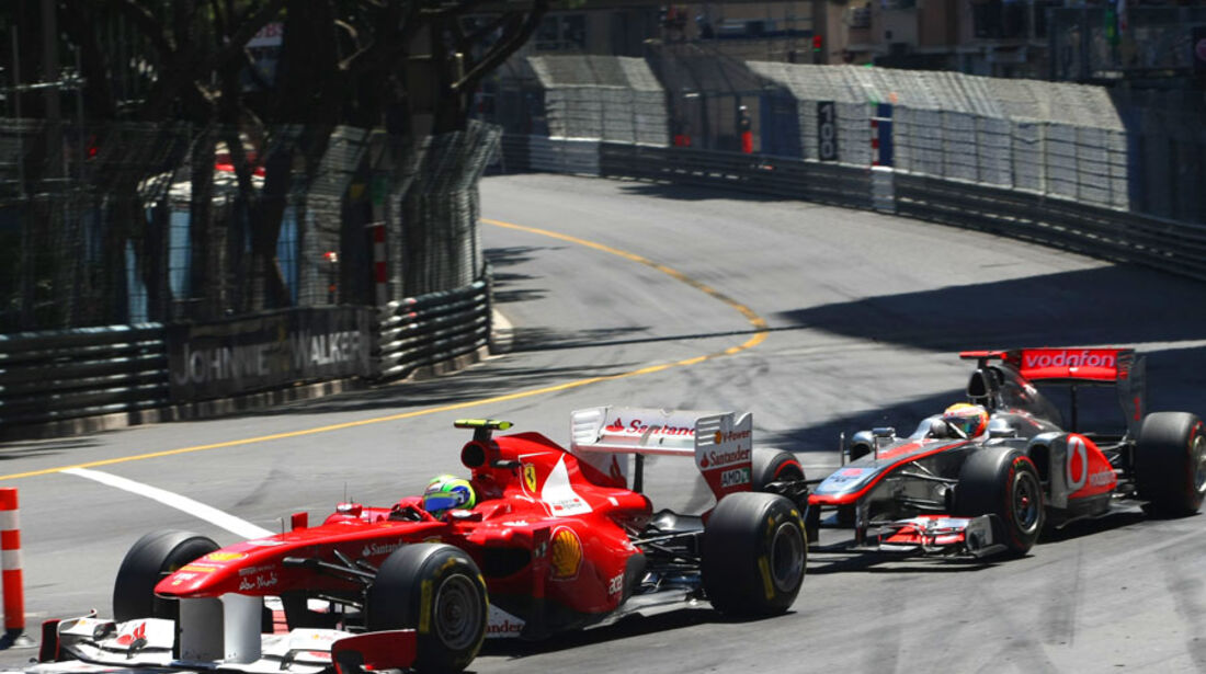 Massa vs. Hamilton GP Monaco 2011