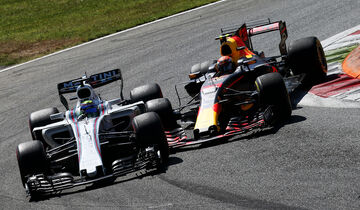 Massa vs. Verstappen - GP Italien 2017