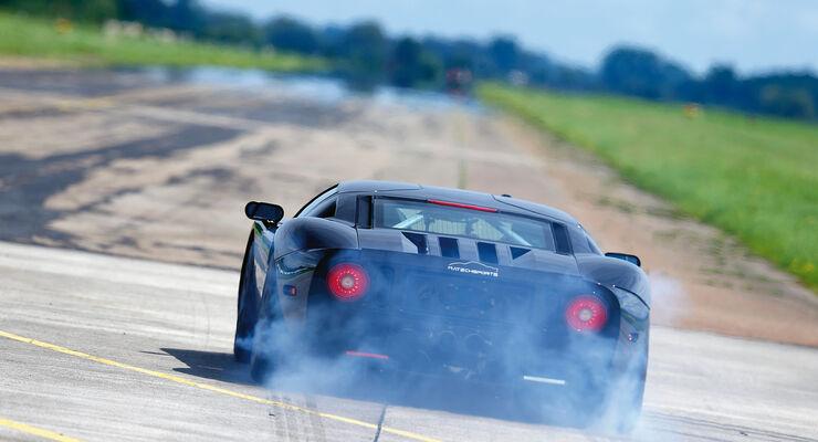 Matechsports-Ford GT, Heckansicht