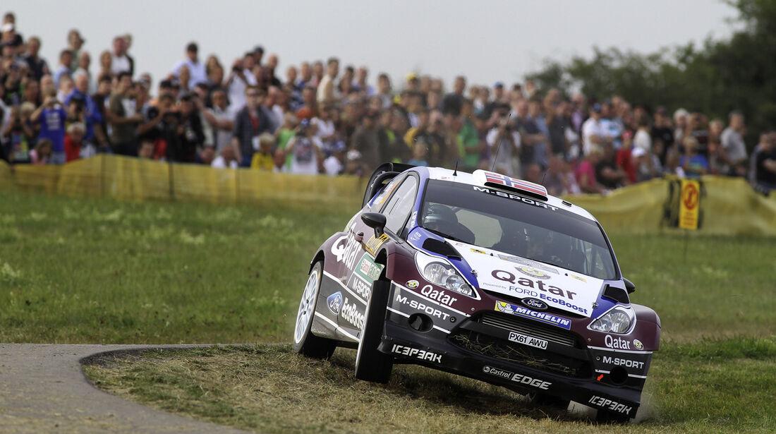 Mats Östberg WRC Rallye Deutschland 2013