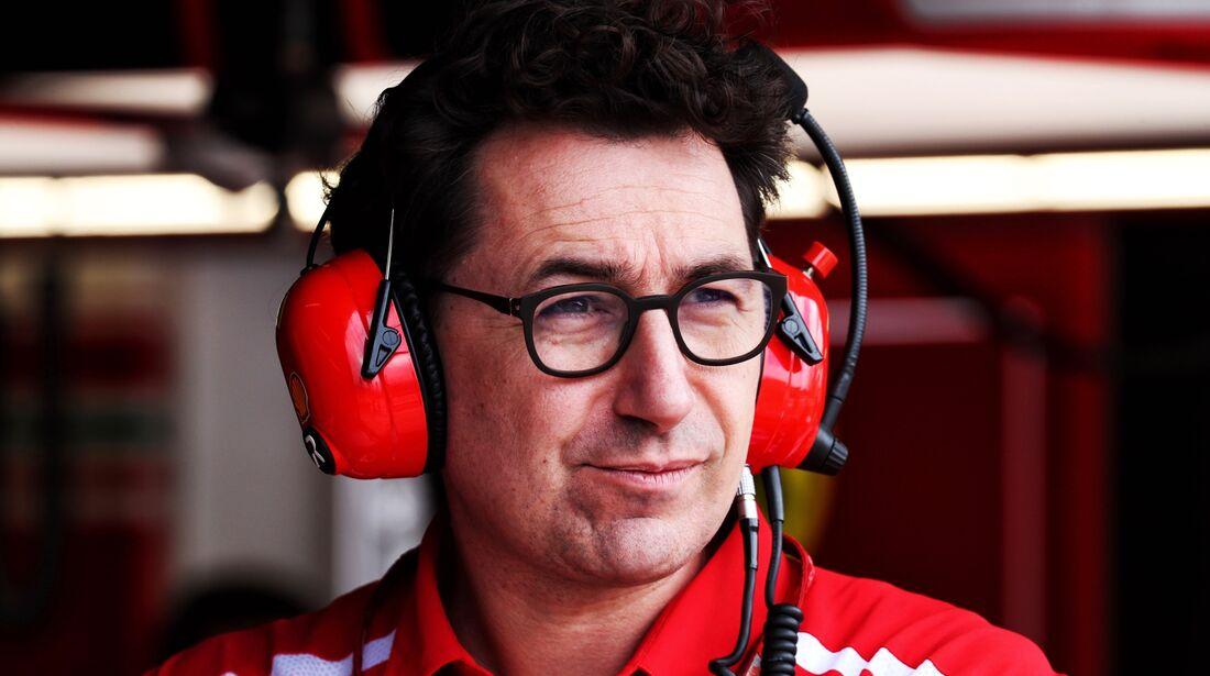 Matteo Binotti - Ferrari - Formel 1 - GP Italien - 01. September 2018
