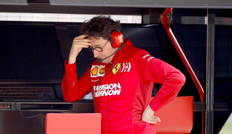 Mattia Binotto - Ferrari - GP China 2019