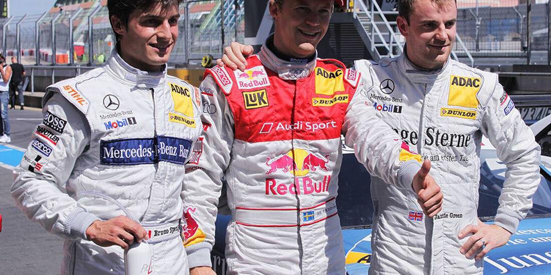 Mattias Ekström, Bruno Spengler, Jamie Green