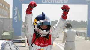 Mattias Ekström gewinnt das zweite DTM Rennen der Saison 2010