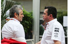 Maurizio Arrivabene & Eric Boullier - Formel 1 - GP USA - Austin - 22. Oktober 2015