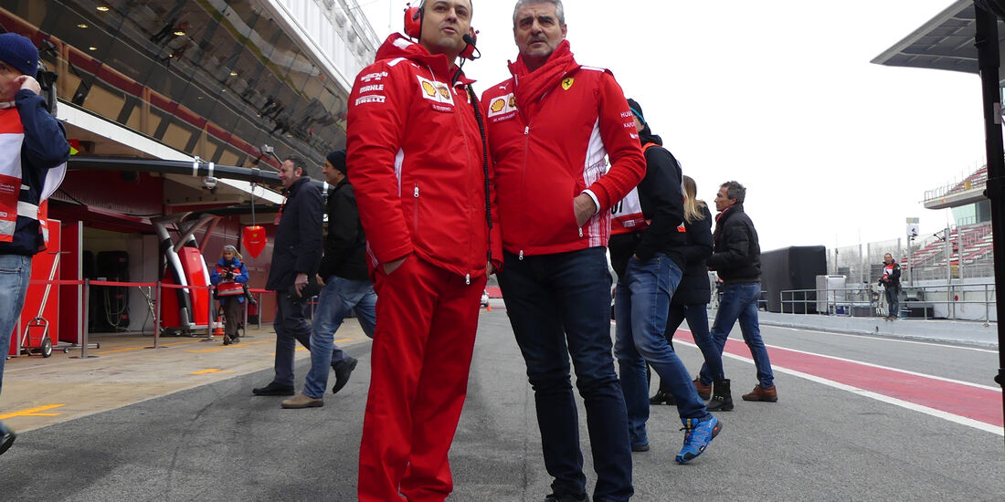 Maurizio Arrivabene - Ferrari - Barcelona F1-Test 2018 - Tag 1