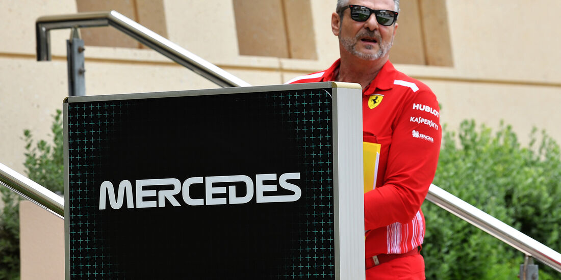 Maurizio Arrivabene - Formel 1 - GP Bahrain - Training - 6. April 2018