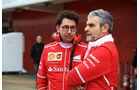 Maurizio Arrivabene & Mattia Binotto - Ferrari - Formel 1 - Test - Barcelona - 8. März 2017