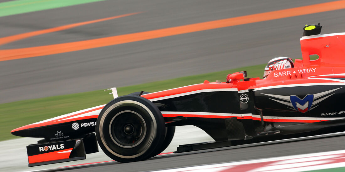 Max Chilton - GP Indien 2013