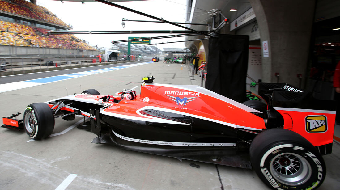 Max Chilton - Marussia - Formel 1 - GP China - Shanghai - 18. April 2014