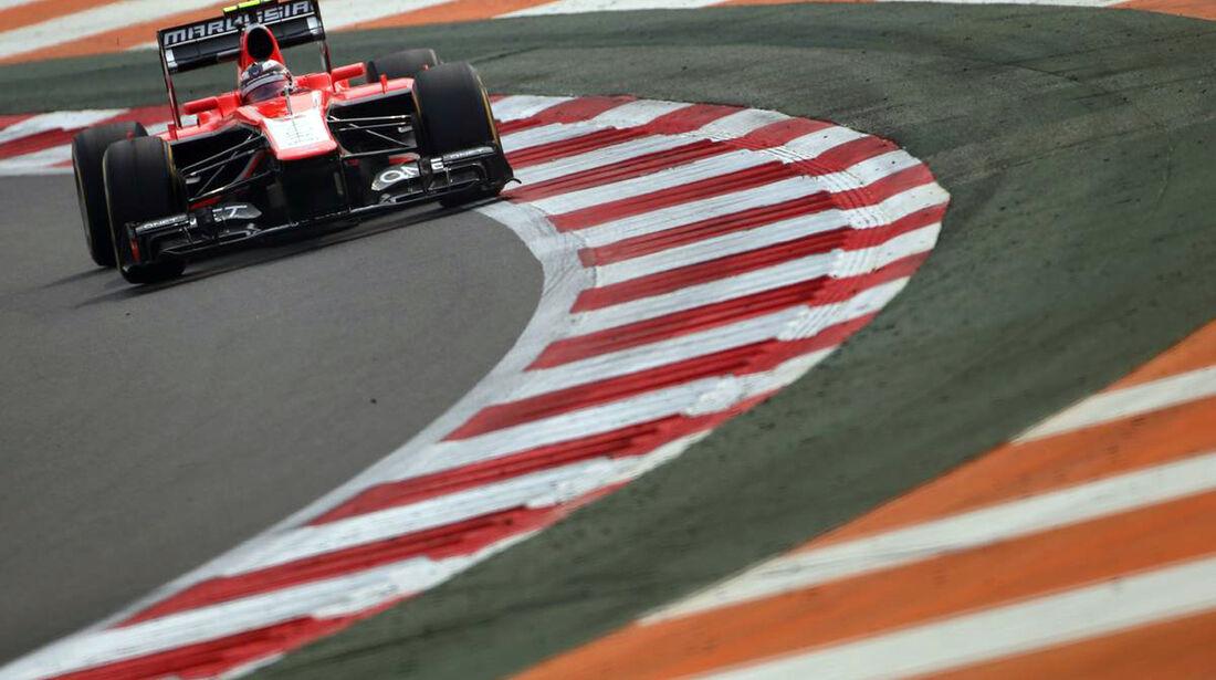 Max Chilton - Marussia - Formel 1 - GP Indien - 26. Oktober 2013