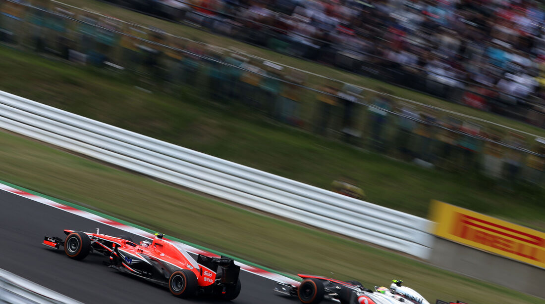Max Chilton - Marussia - Formel 1 - GP Japan 2013