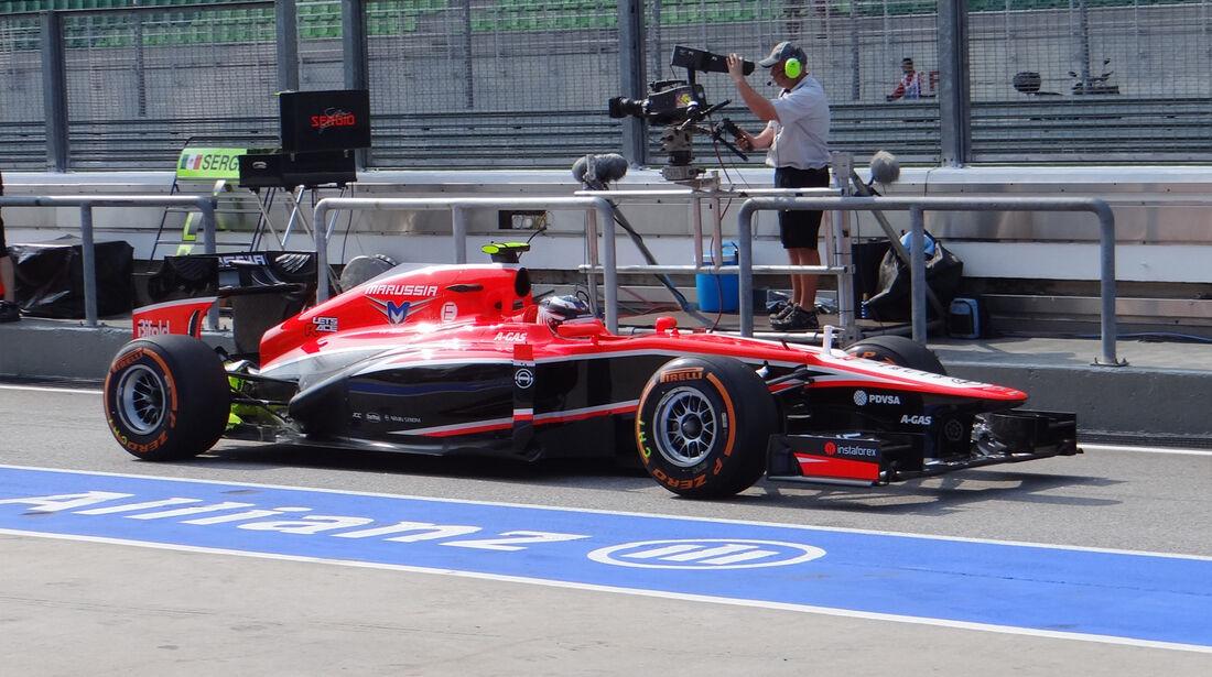 Max Chilton - Marussia - Formel 1 - GP Malaysia - 22. März 2013
