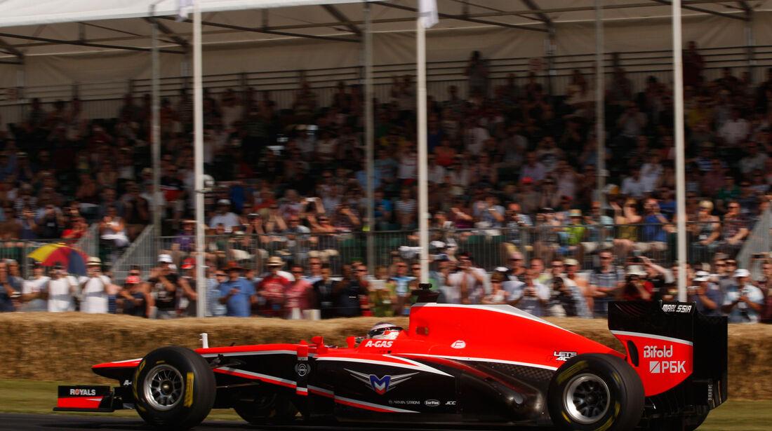 Max Chilton - Marussia MR02 - Goodwood 2013