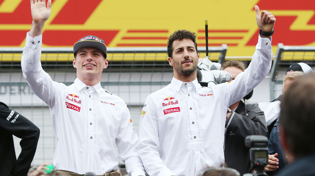Max Verstappen - Daniel Ricciardo - Formel 1 - GP Österreich - 3. Juli 2016