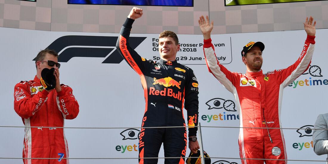 Max Verstappen - GP Österreich 2018