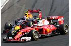 Max Verstappen - Kimi Räikkönen - Formel 1 - GP Ungarn - 24. Juli 2017