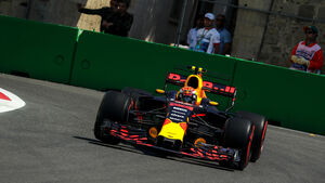 Max Verstappen - Red Bull - Formel 1 - GP Aserbaidschan 2017 - Training - Freitag - 23.6.2017