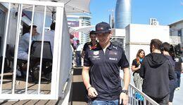 Max Verstappen - Red Bull - Formel 1 - GP Aserbaidschan - 26. April 2018