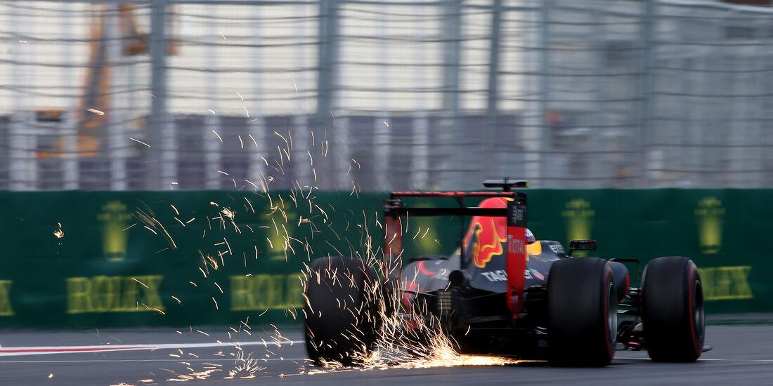 Max Verstappen - Red Bull - Formel 1 - GP Aserbaidschan - Baku - 18. Juni 2016