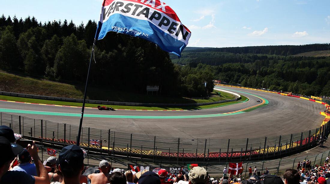 Max Verstappen - Red Bull - Formel 1 - GP Belgien - Spa-Francorchamps - 27. August 2016