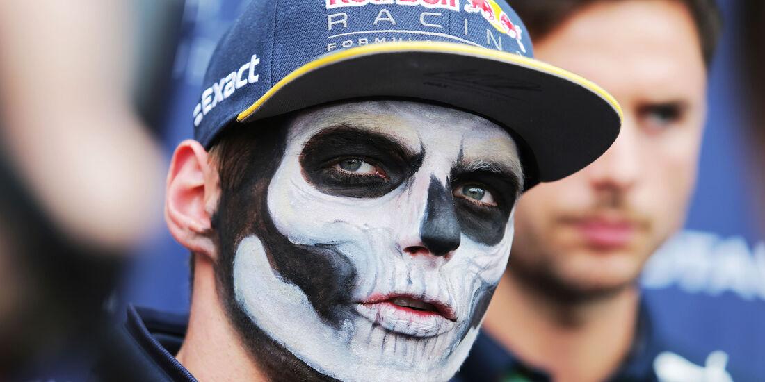 Max Verstappen - Red Bull - Formel 1 - GP Mexiko - 27. Oktober 2016