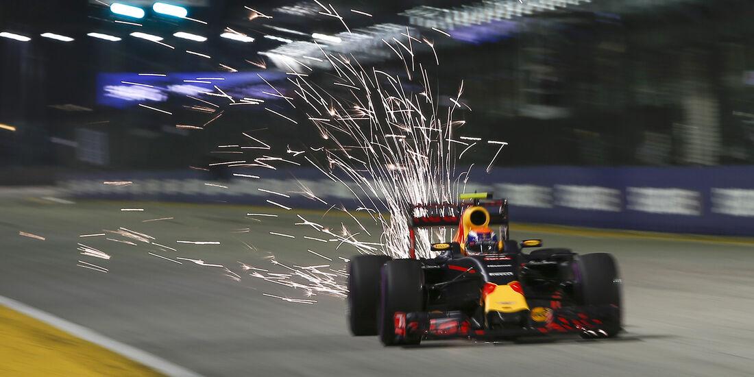 Max Verstappen - Red Bull - Formel 1 - GP Singapur - 17. September 2016
