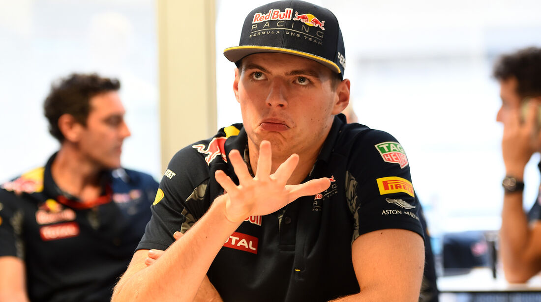 Max Verstappen - Red Bull - Formel 1 - GP USA - Austin - 20. Oktober 2016
