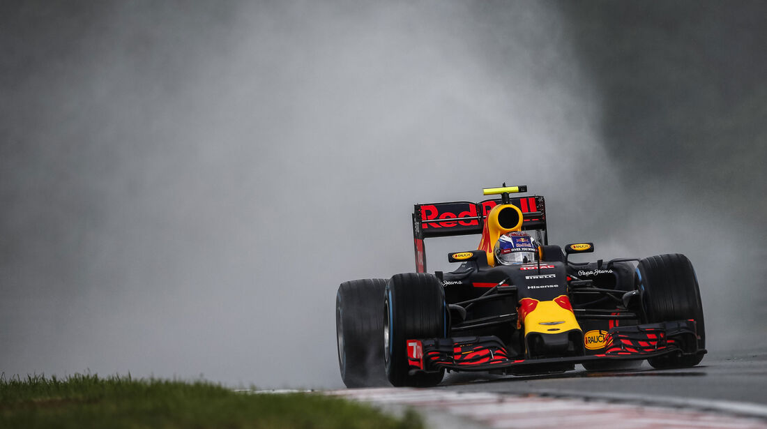 Max Verstappen - Red Bull - Formel 1 - GP Ungarn - 23. Juli 2016