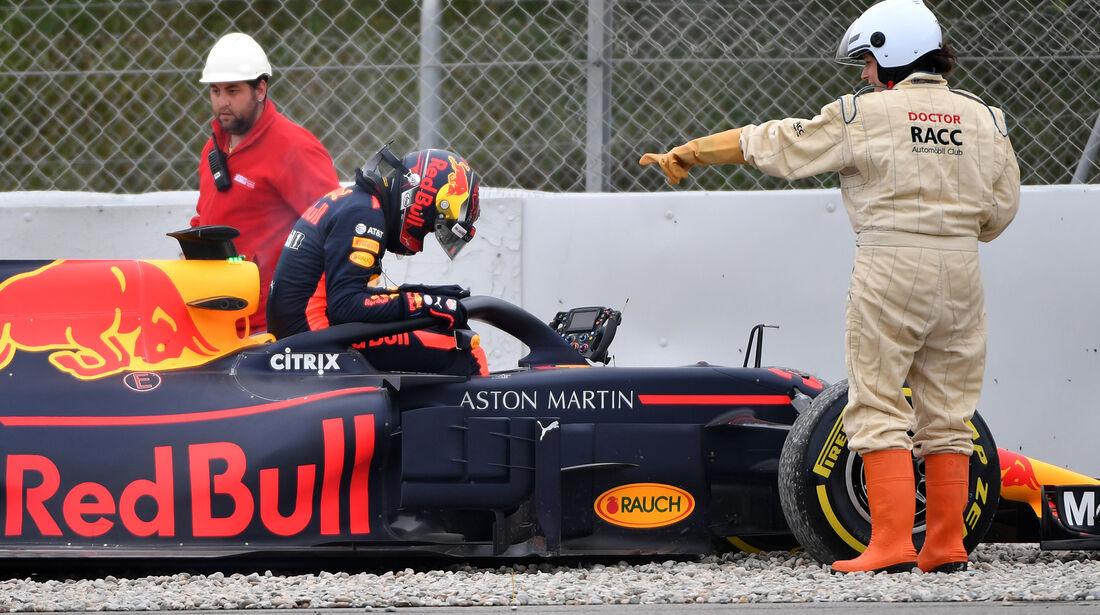 Max Verstappen - Red Bull - Formel 1 Test - Barcelona - Tag 4 - 1. März 2018