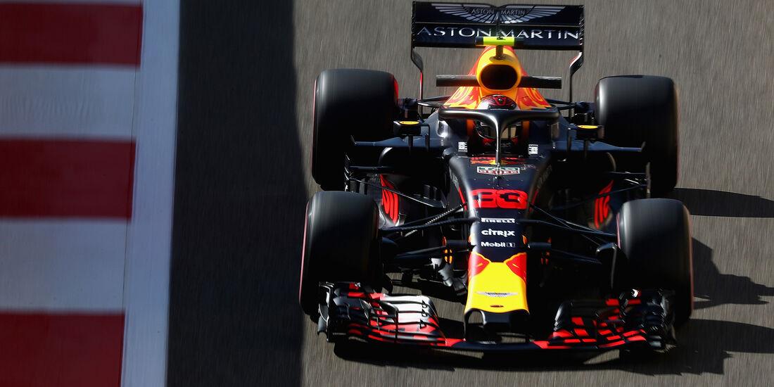 Max Verstappen - Red Bull - GP Abu Dhabi - Formel 1 - 23. November 2018
