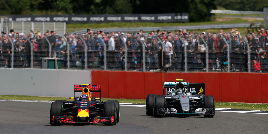 Max Verstappen - Red Bull - GP England 2016 - Silverstone - Rennen