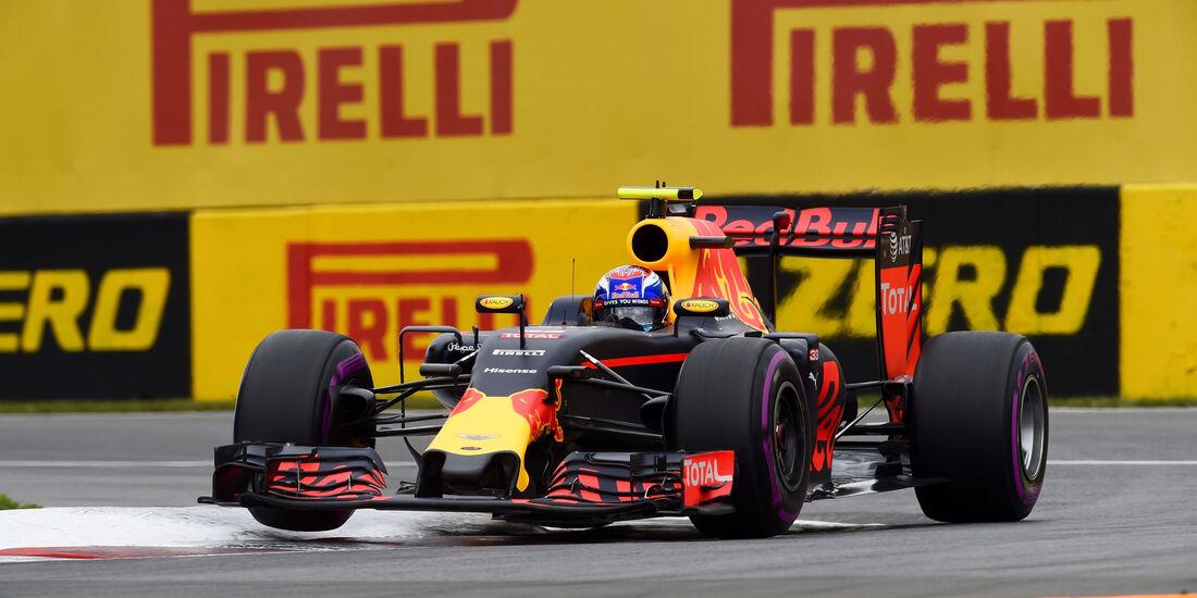 Max Verstappen - Red Bull - GP Kanada 2016 - Montreal - Qualifying