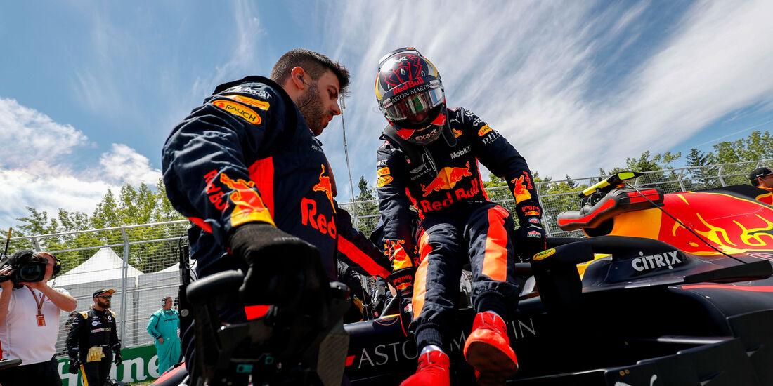 Max Verstappen - Red Bull - GP Kanada 2018
